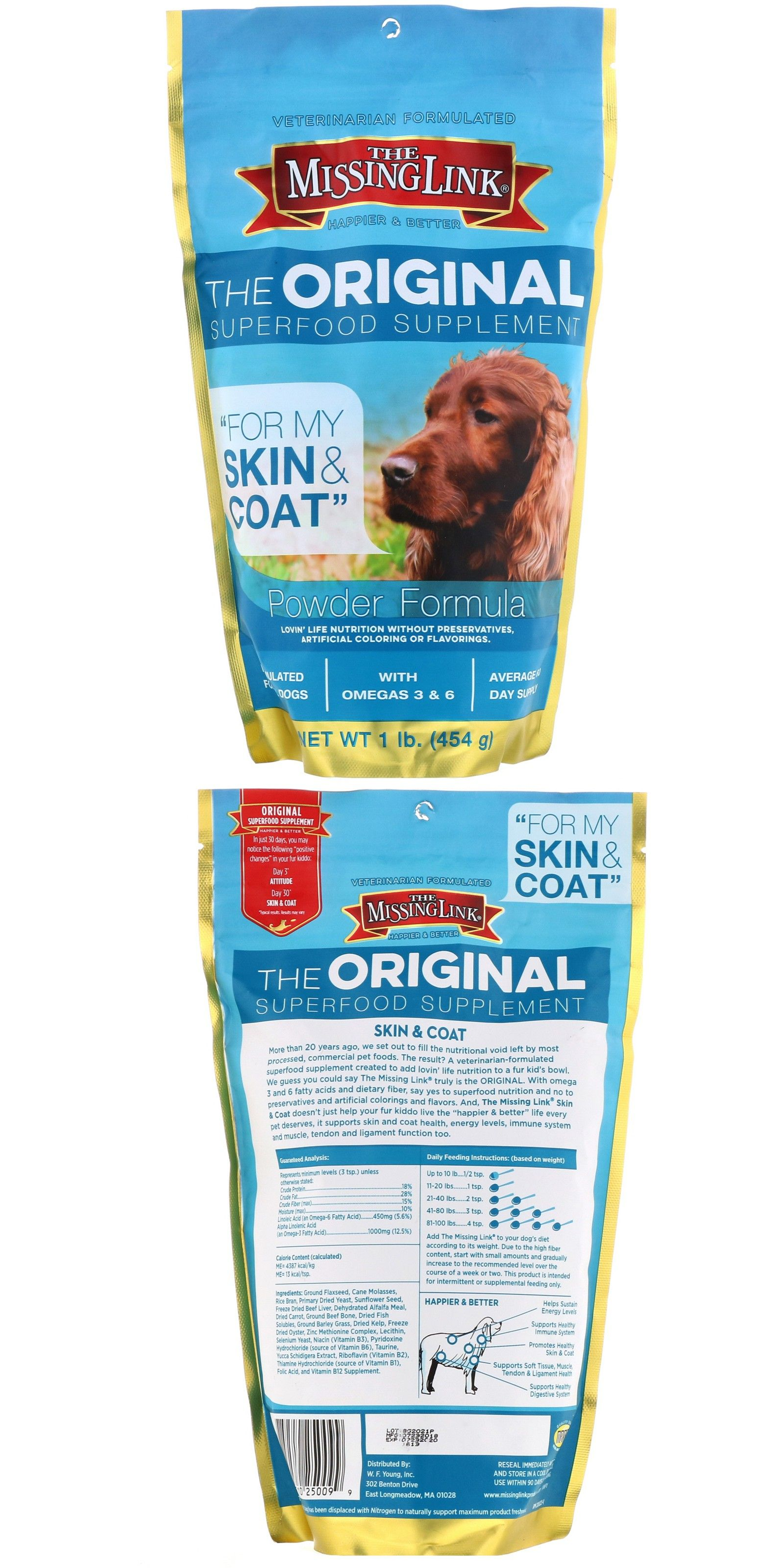 Missing Link Original Superfood Skin & Coat Supplement for