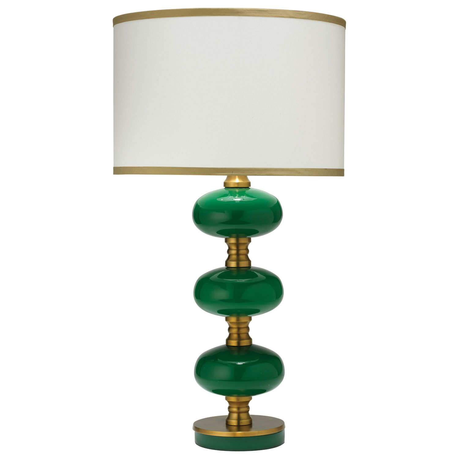 Charming Jamie Young Lighting Table Lamp Base Stockholm Emerald. #laylagrayce
