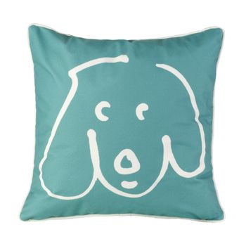 Miles wants to decorate his corner of the apartment with one of these pillows.