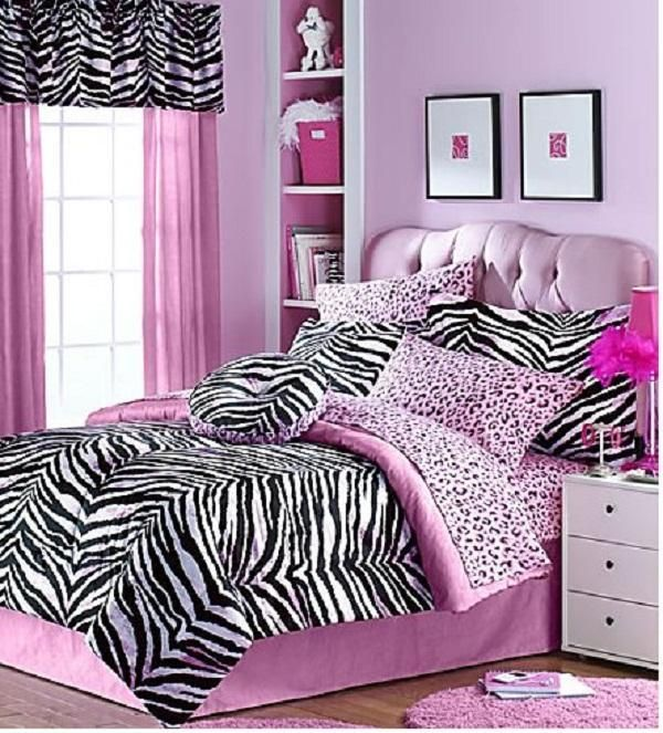 girl bedroom ideas zebra purple. DIY Girls Room Ideas | Zebra Bed Linenfor Cool Bedroom For Teenage Girl Purple D