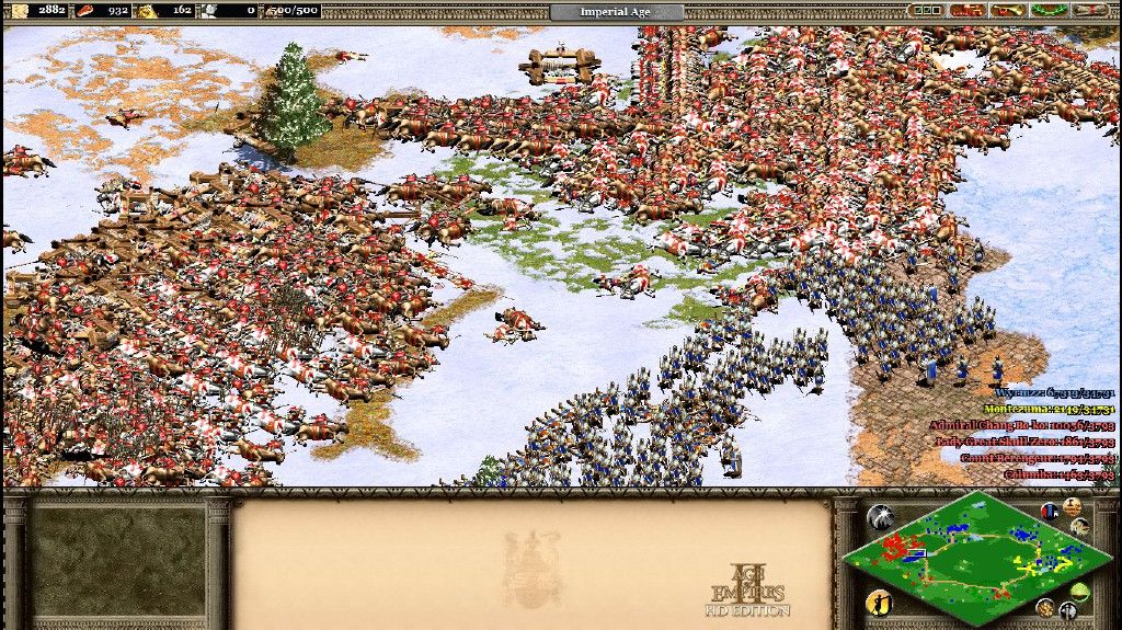 Battle in Age of Empires II: HD Edition  Screenshot by Steam user