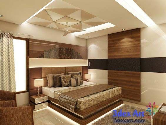 New False Ceiling Designs Ideas For Bedroom 48 With LED Lights Awesome Ceiling Design For Master Bedroom