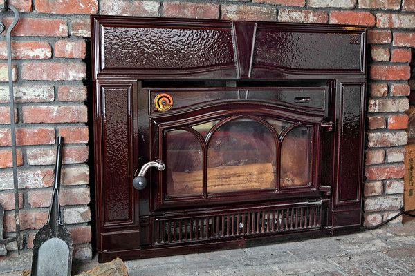 Wood Burning Fireplace Inserts Images