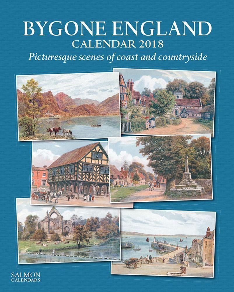 Bygone England  Wall Calendar  Salmon Calendars A R Quinton
