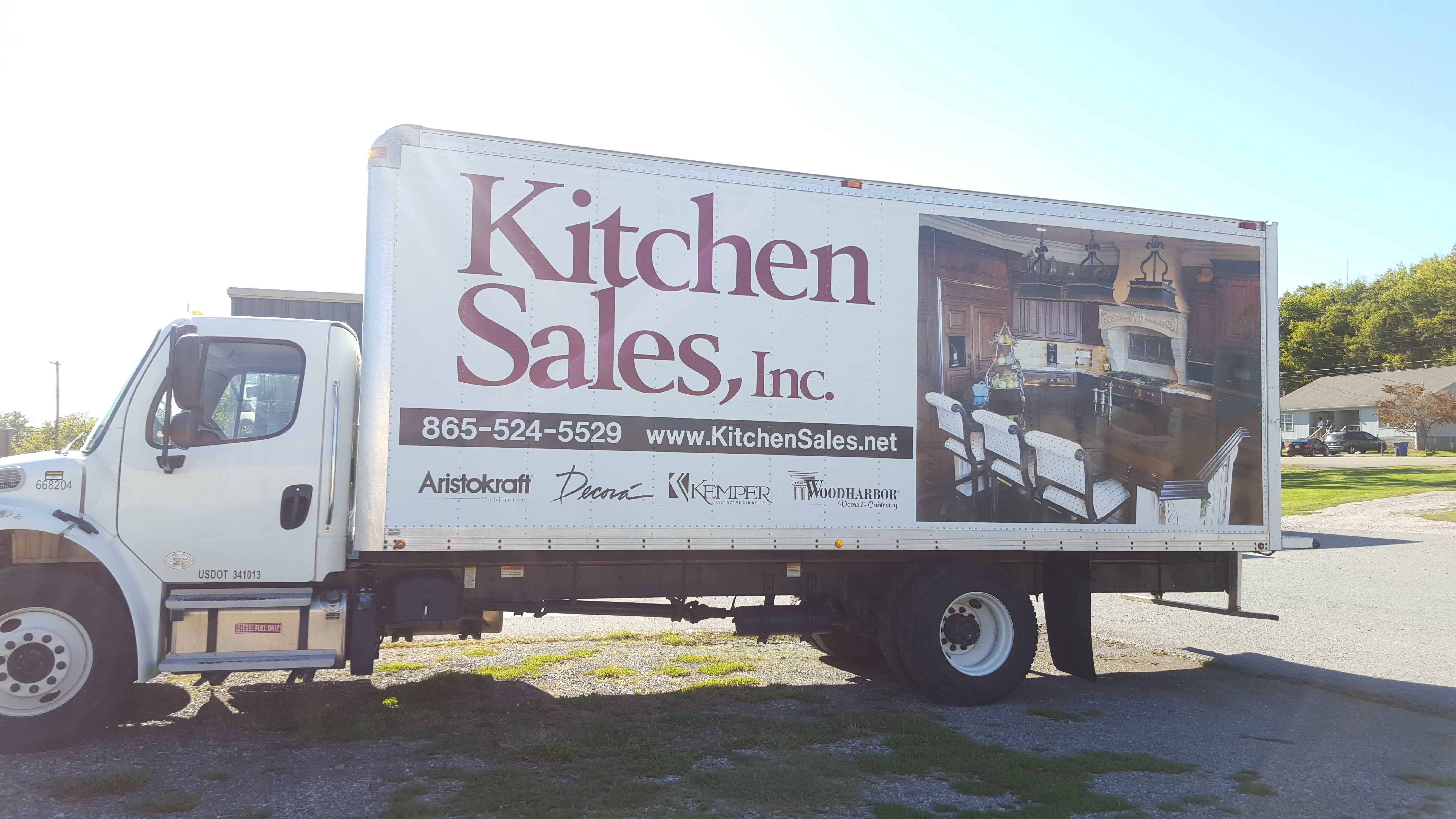 Kitchen Sales, Knoxville, TN deliver truck delivering Kitchen and ...