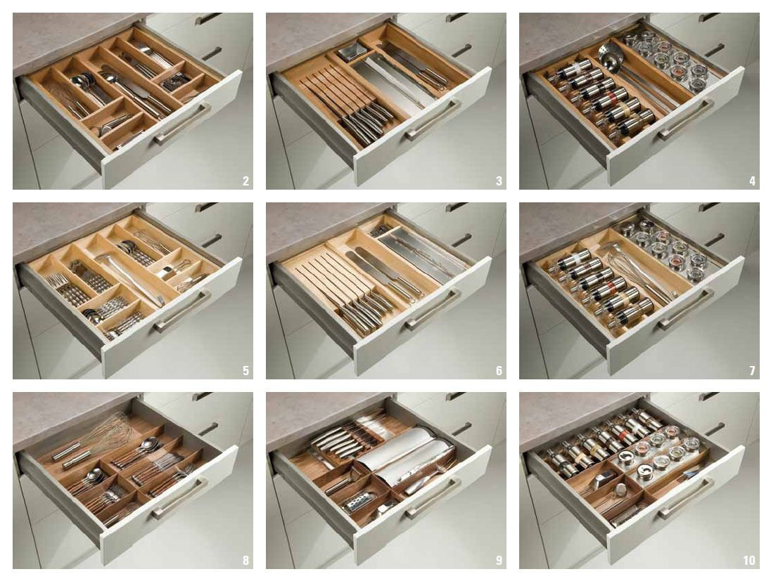 cocinas Interiores para organizar los cajones #madrid ...