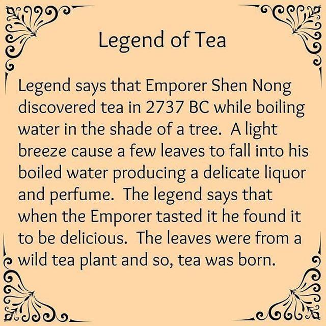 Legend of Tea #cuppatea