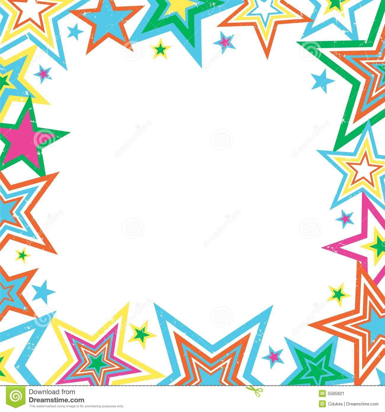 Pix For Gt Pink Star Borders And Frames