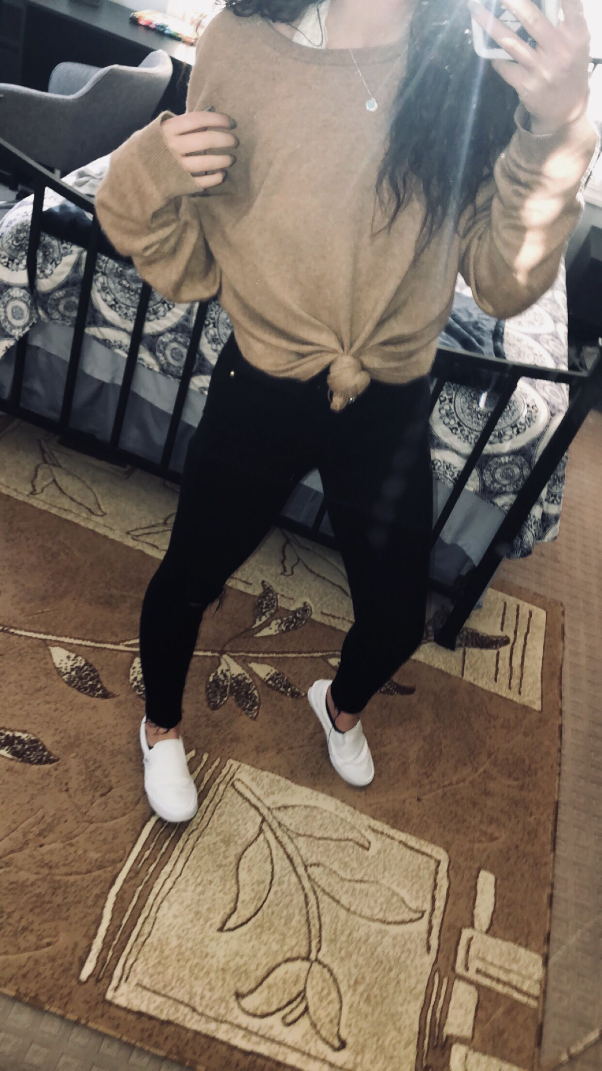 Topman Sweater Black Good American Jeans White Vans Everyday Outfits Junior Outfits Vsco Outfits [ 2208 x 1242 Pixel ]