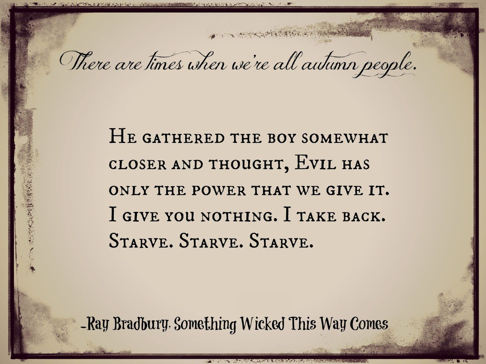 something wicked this way comes quotes google search - Halloween Quotes And Phrases