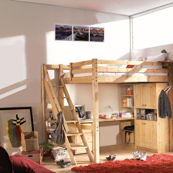 mezzanine l 39 am nagement gain de place par excellence. Black Bedroom Furniture Sets. Home Design Ideas