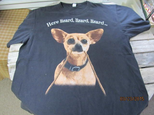 7a76c2e1 Vintage Taco Bell Chihuahua Here Lizard Lizard Lizard Black Changes T-Shirt  Size XL by EvenTheKitchenSinkOH on Etsy
