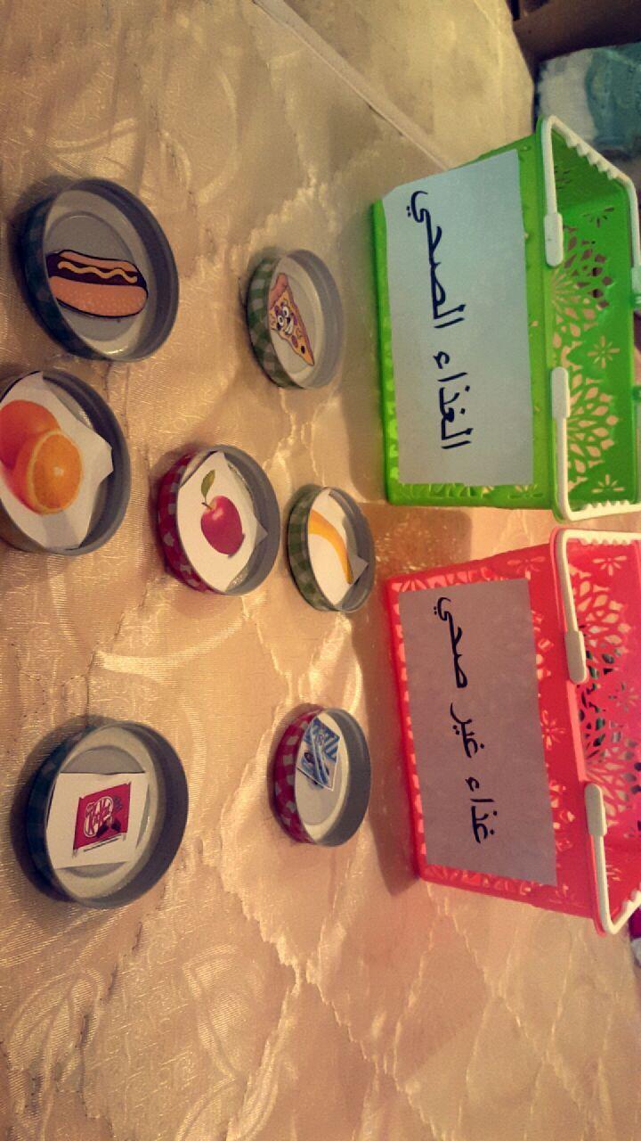 حلقة الغذاء الصحي وغير الصحي School Art Activities Islamic Kids Activities Kids Learning Activities