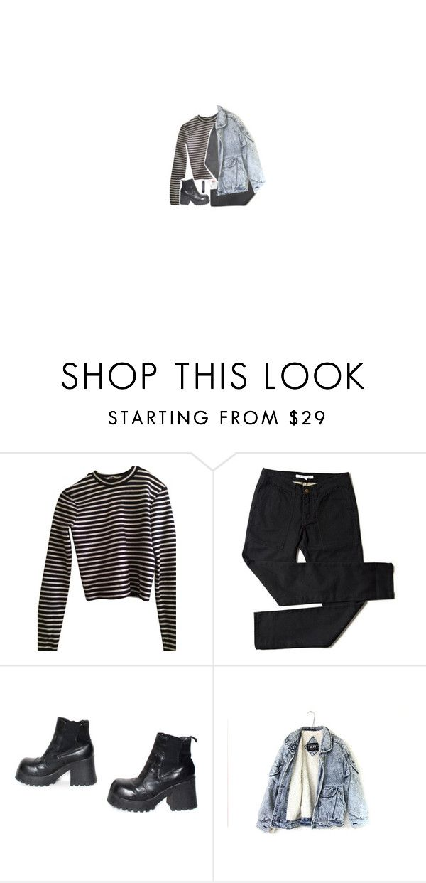 """""""without ever letting me know."""" by m-ilkteeth ❤ liked on Polyvore featuring T By Alexander Wang"""