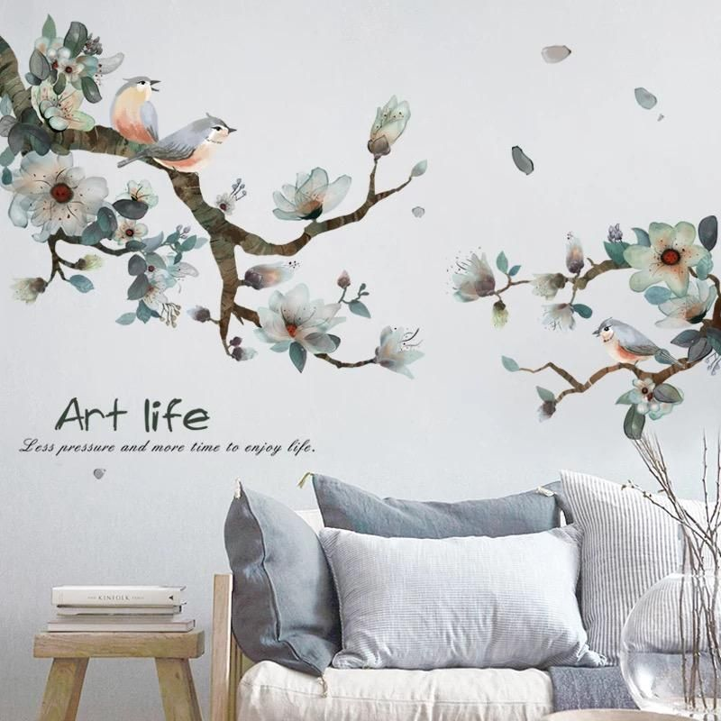 Branch Birds Wall Decals Diy Wall Decor Bird Wall Decals