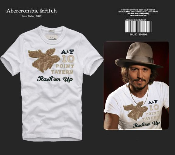 Abercrombie and fitch mens graphic tees 015 for Abercrombie logo t shirt