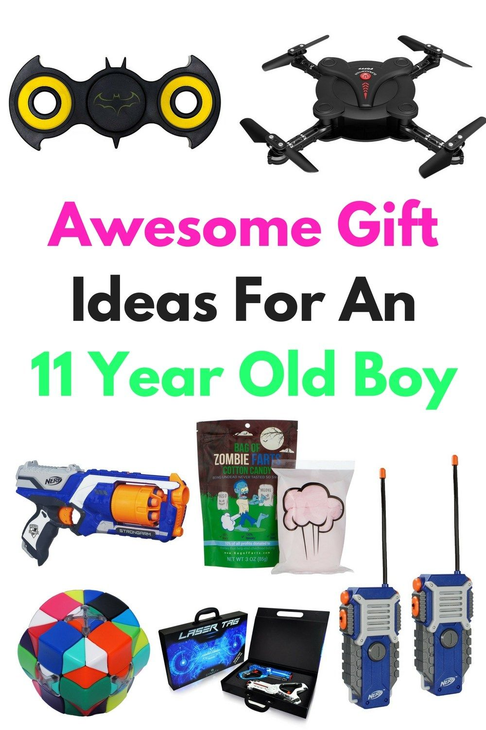 Are You Searching For Gift Ideas For An 11 Year Old Boy Here Are A Lot Of Awesome Ideas To U Christmas Gifts For Boys Tween Boy Gifts Christmas Gifts For Kids