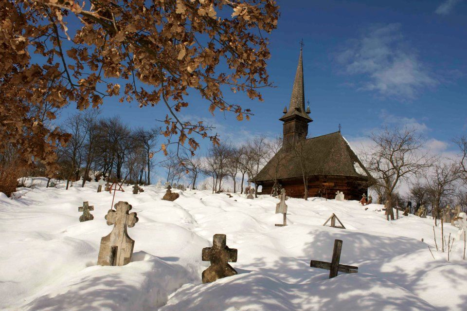 Via Fotomotica's Facebook Page - Winter in Maramures