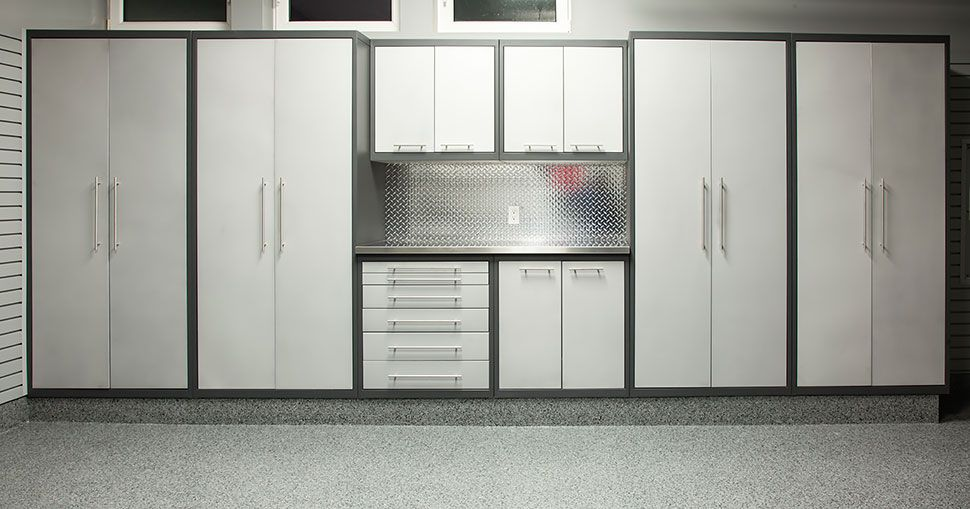 The Gl Premium Cabinet System Has Double Wall Doors And Stainless Steel Countertops