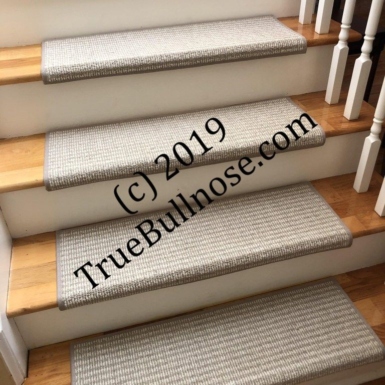 Best Rustic Charm Soft Taupe 100 Wool True Bullnose™ Padded 400 x 300