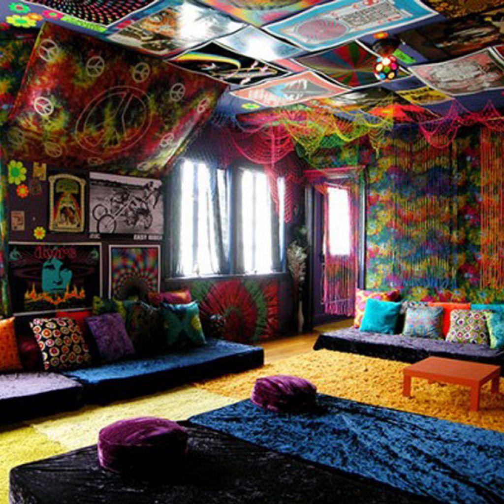 15 creative ways in hippie home decor hippie house hippie living room chill room on kitchen decor hippie id=67736