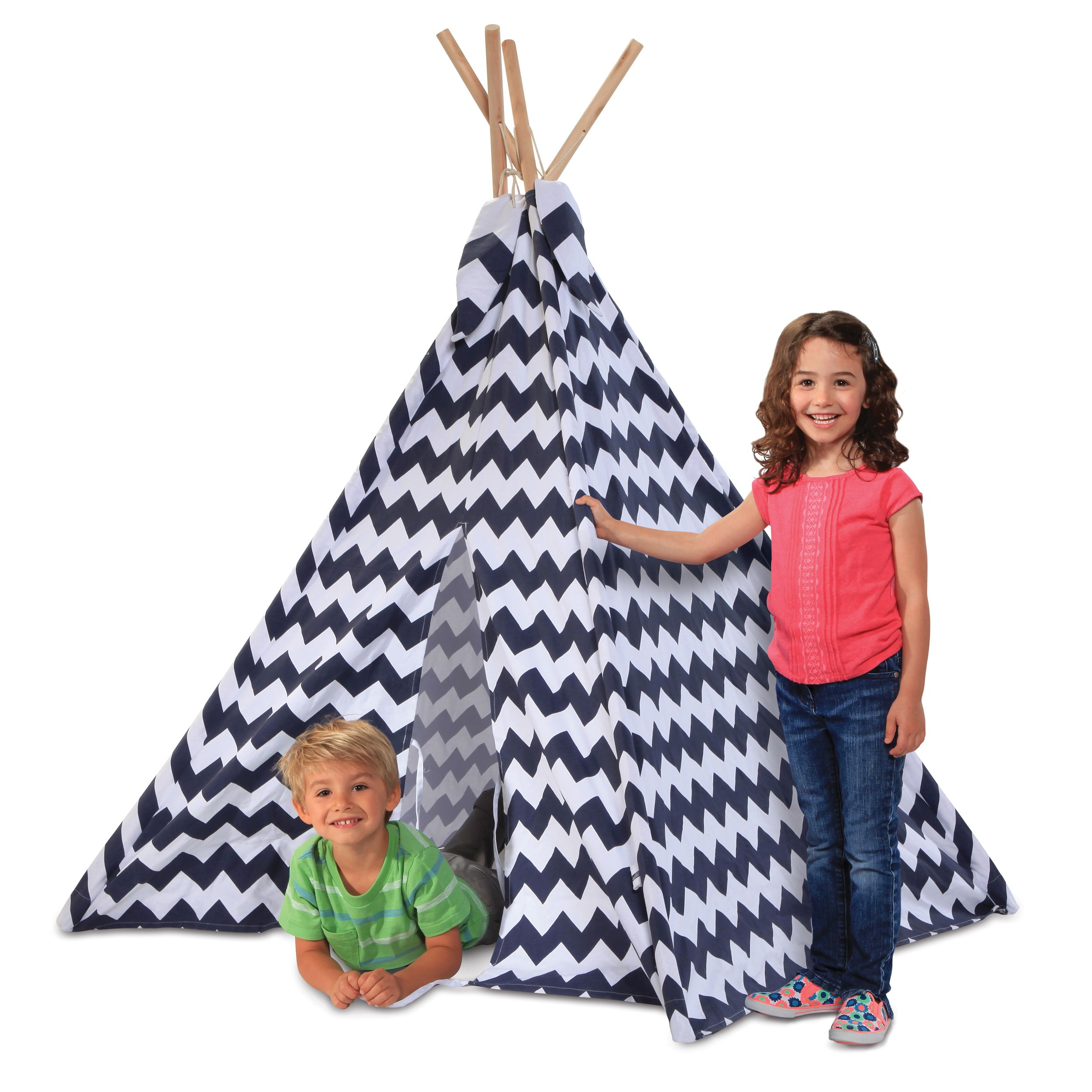 PURCHASED Have indoor or outdoor fun with the Discovery Kids Adventure Play TeePee Tent.  sc 1 st  Pinterest & PURCHASED Have indoor or outdoor fun with the Discovery Kids ...