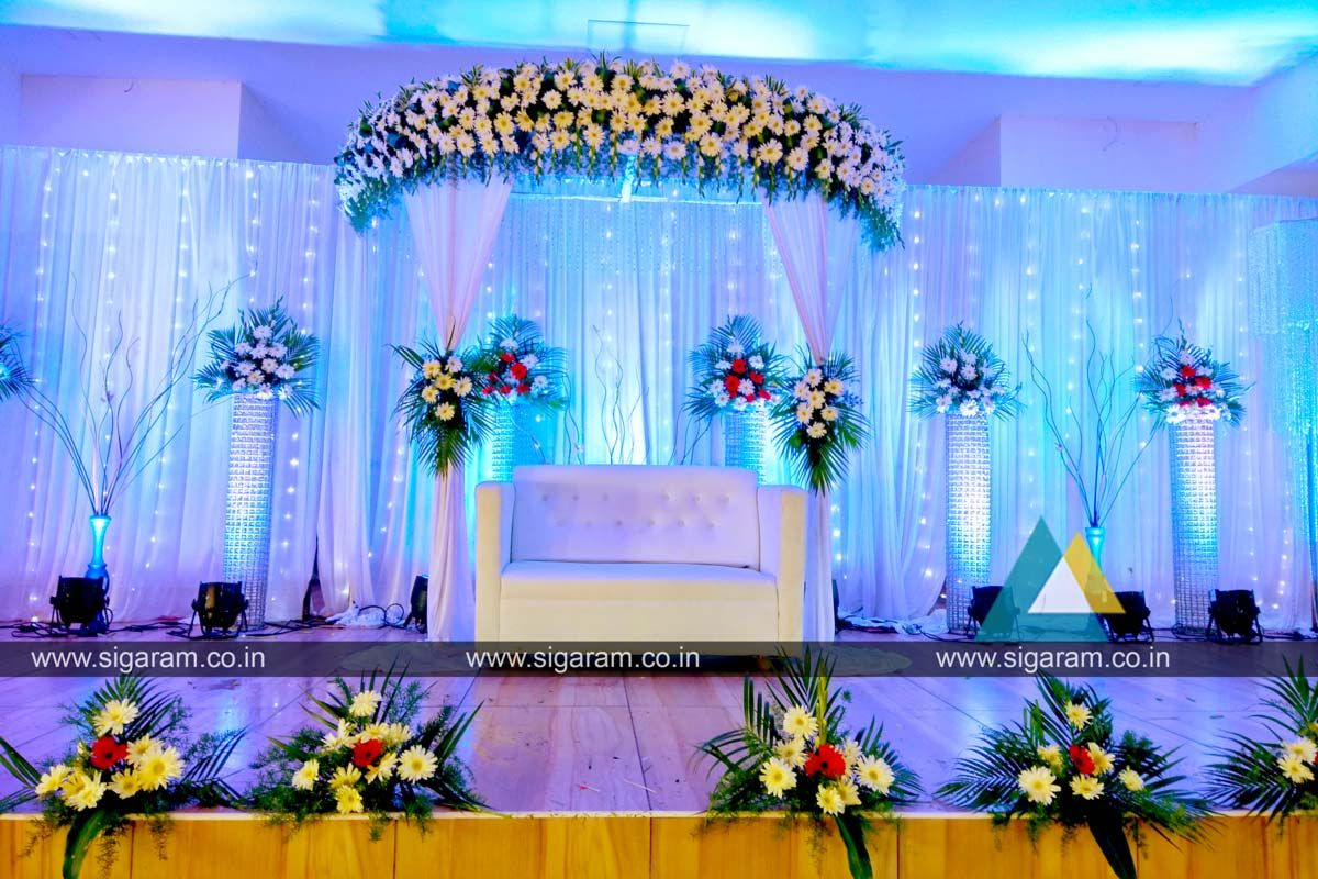 Reception Reception Stage Decoration Done On 2nd September 2017 At