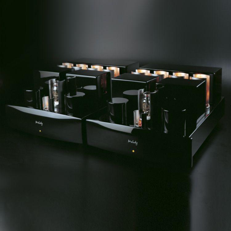 MELODY DARK POWER 845-4   POWER AMPLIFIER