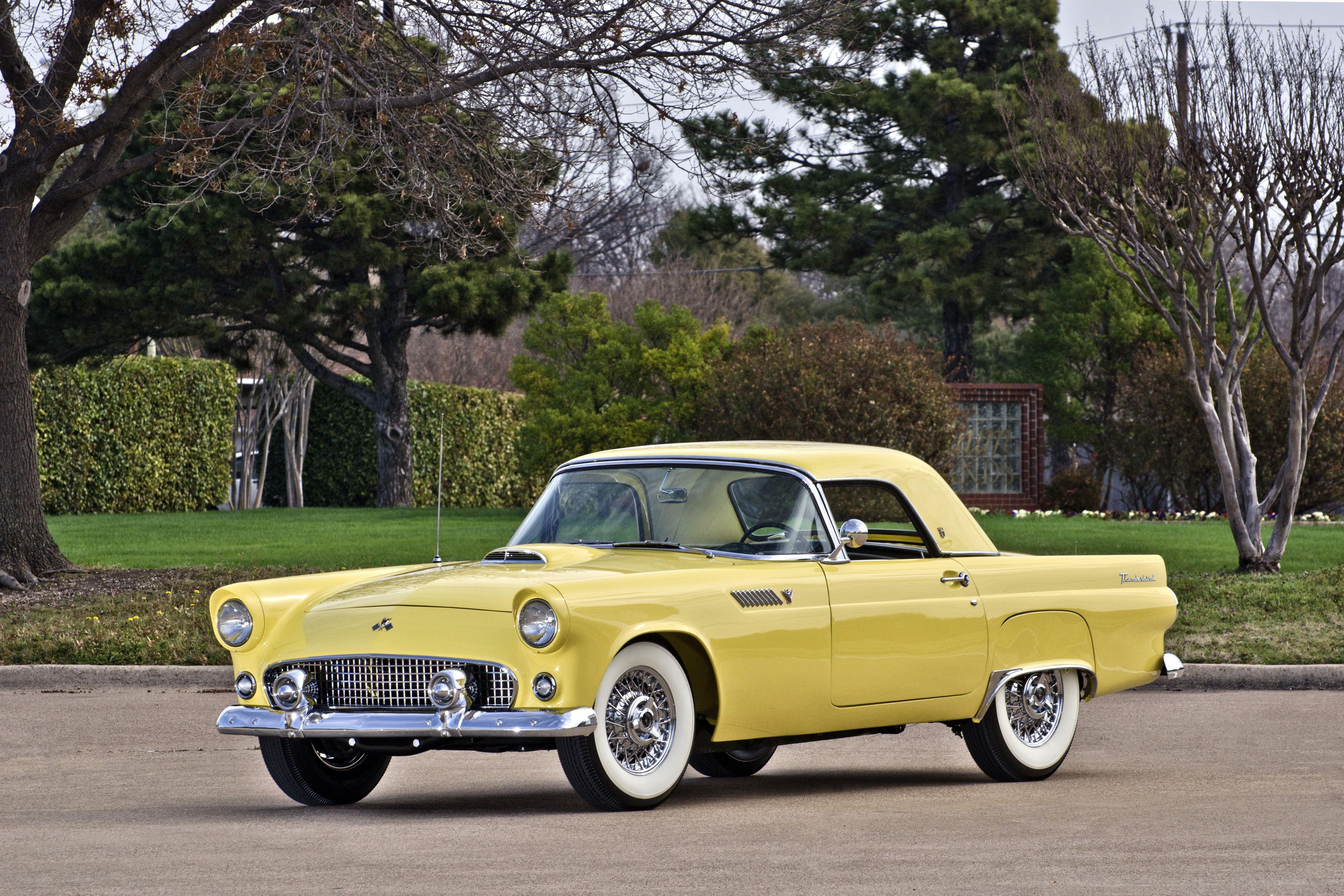 1955 Ford Thunderbird Maintenance restoration of old vintage