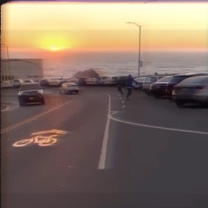#aesthetic #ride #sunset #skateboarding #skateboard #longskateboard #retro #lofi