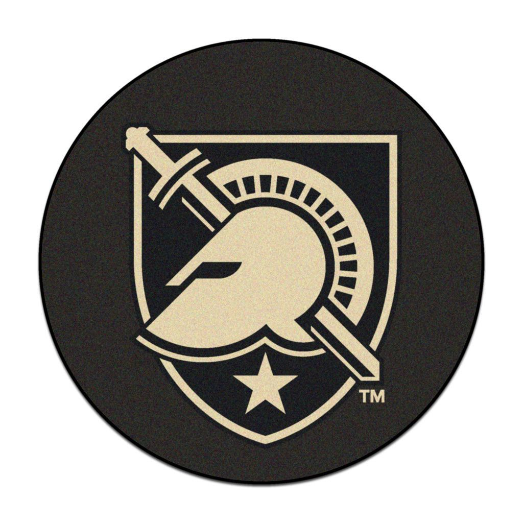 army black knights hockey puck area rug hockey knight and products