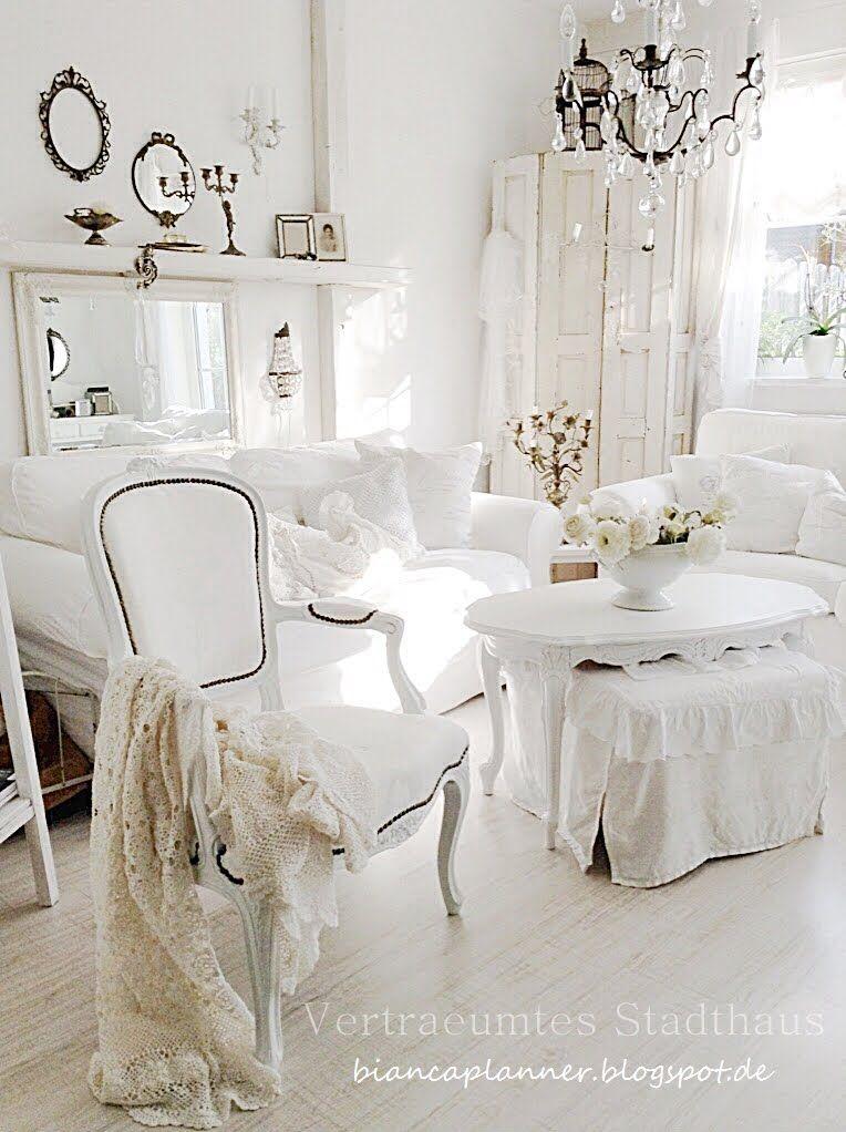 WOHNBEREICH Dsignetnan Pinterest Wohnbereich, Shabby chic und - wohnzimmer ideen alt