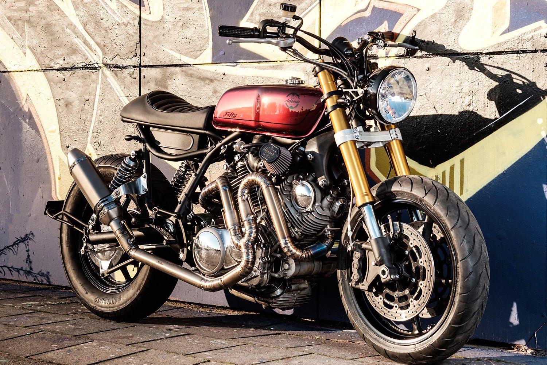 Superior The Moto Adonis U0027Elegant Bastardu0027 Yamaha XV Cafe Tracker