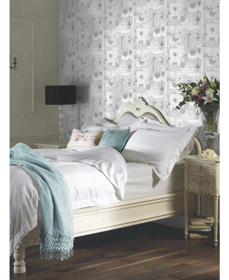 Bedrooms · This Stunning Felicity Paris Wallpaper ...