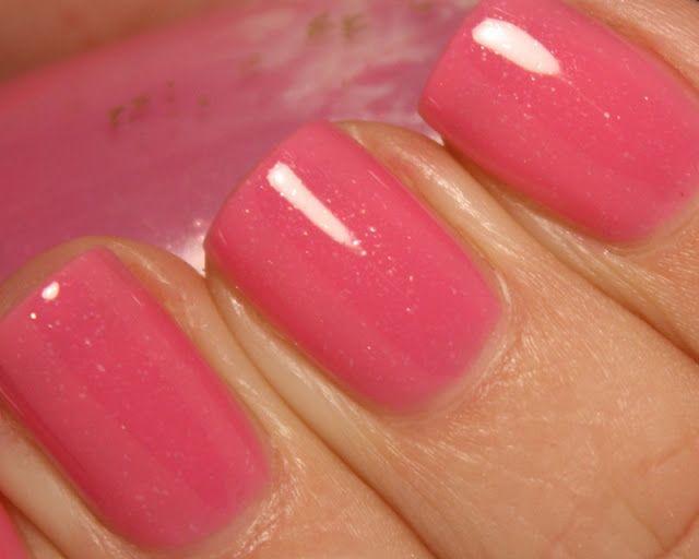 (Revlon Sheer Blossom + Revlon Cherries in the Snow)
