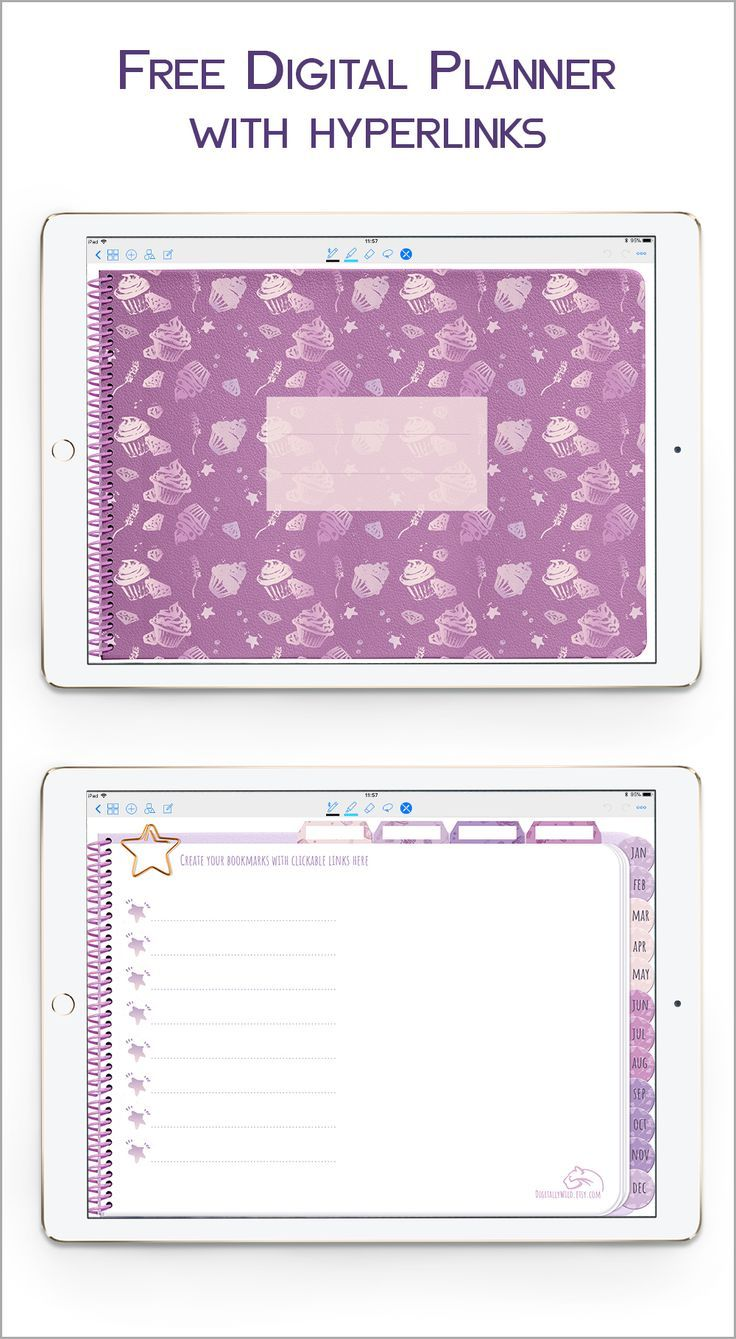 Genius image for free digital planner pdf