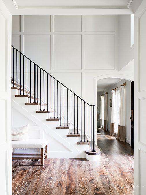 House Tour: California Cool Gambrel #staircaseideas