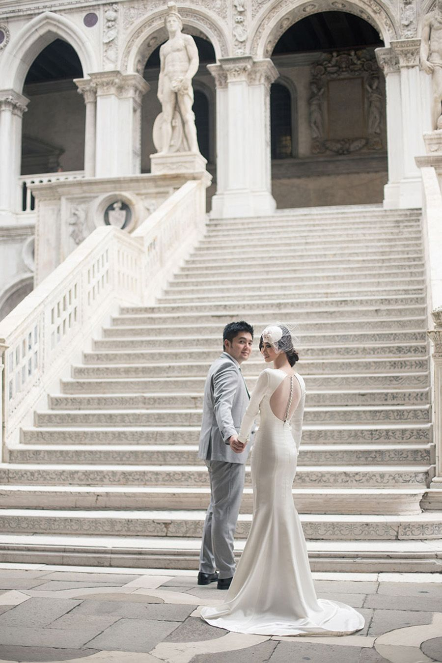 The City Built on Water: Edelix and Jane's Venetian Engagement
