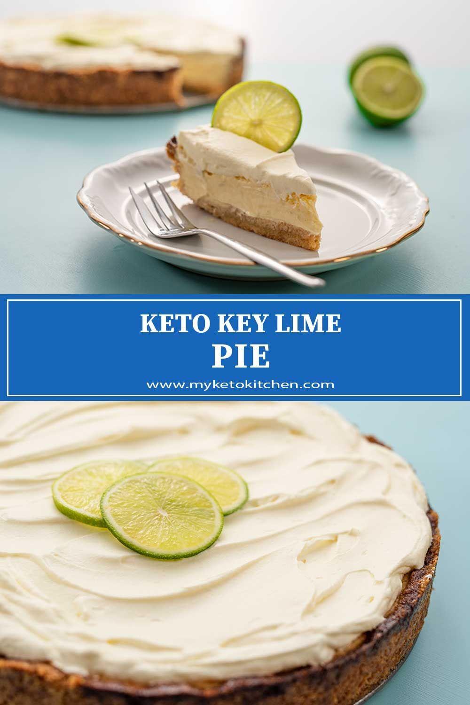 Best Keto Key Lime Pie Recipe Low Carb Creamy Delicious Recipe In 2020 Recipes Low Carb Keto Recipes Low Carb Recipes Dessert