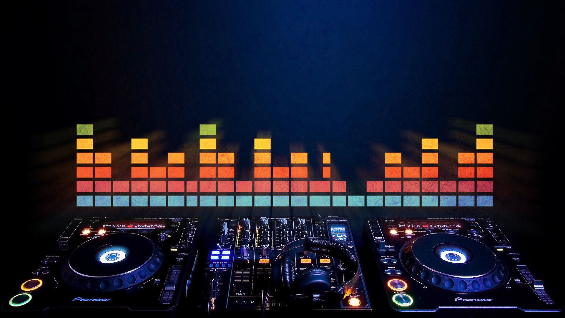 Dj Turntable Wallpaper High Resolution Music Wallpaper