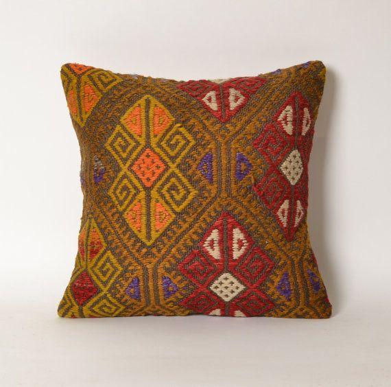 Photo of indie decor, boho decor, home decor, bohemian decor, kilim pillow cover, cottage pillow, decorative pillow, cottage decor, cottage pillows