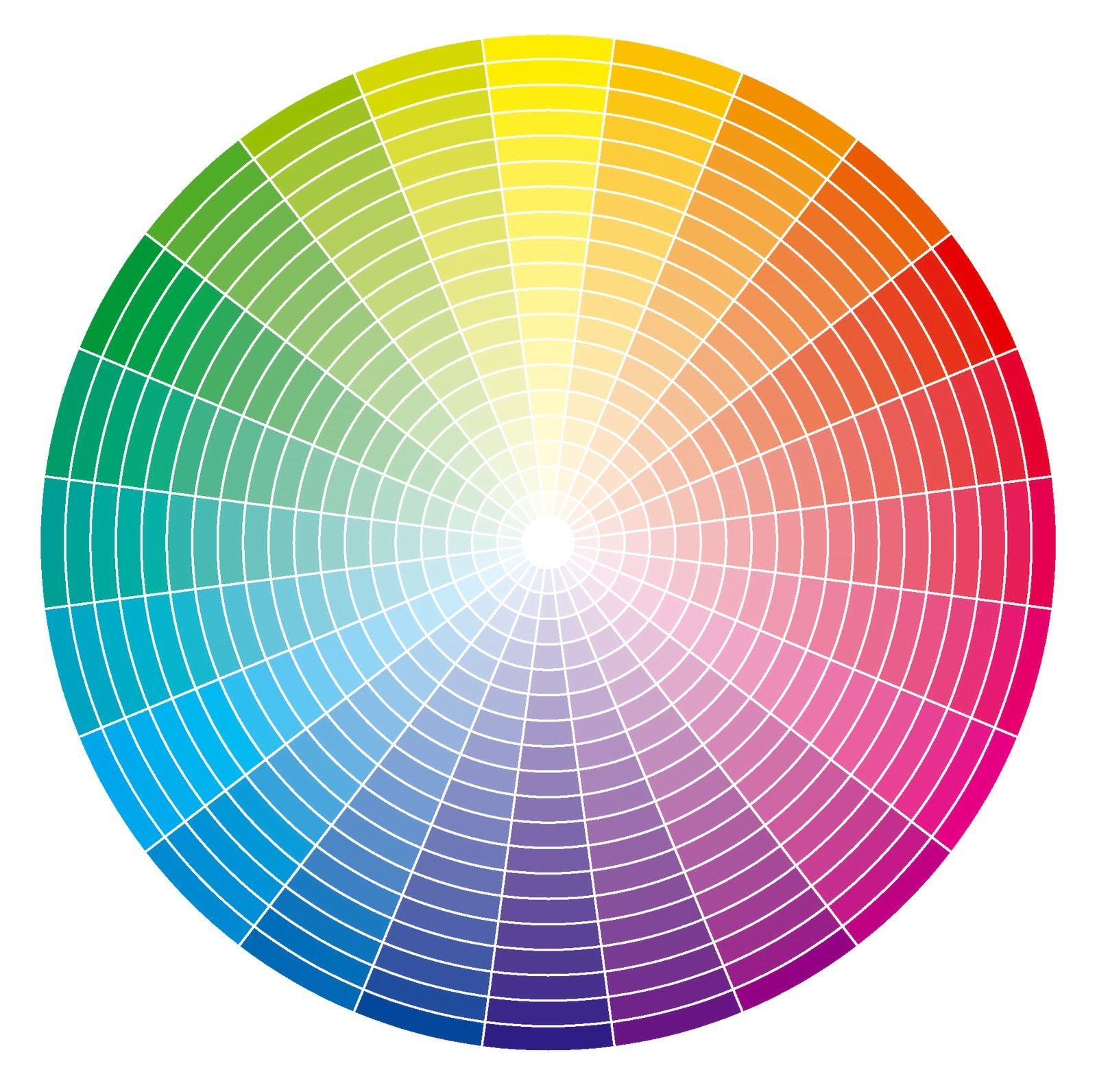 Circulo cromatico completo grande pesquisa google paletas de color en 2019 pinterest - Paleta cromatica de colores ...