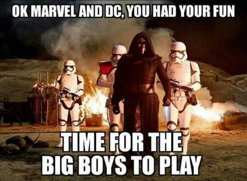 Disney Civil War 20 Hilarious Star Wars Vs Mcu Memes Cbr Star Wars Humor Star Wars Memes Funny Star Wars Memes