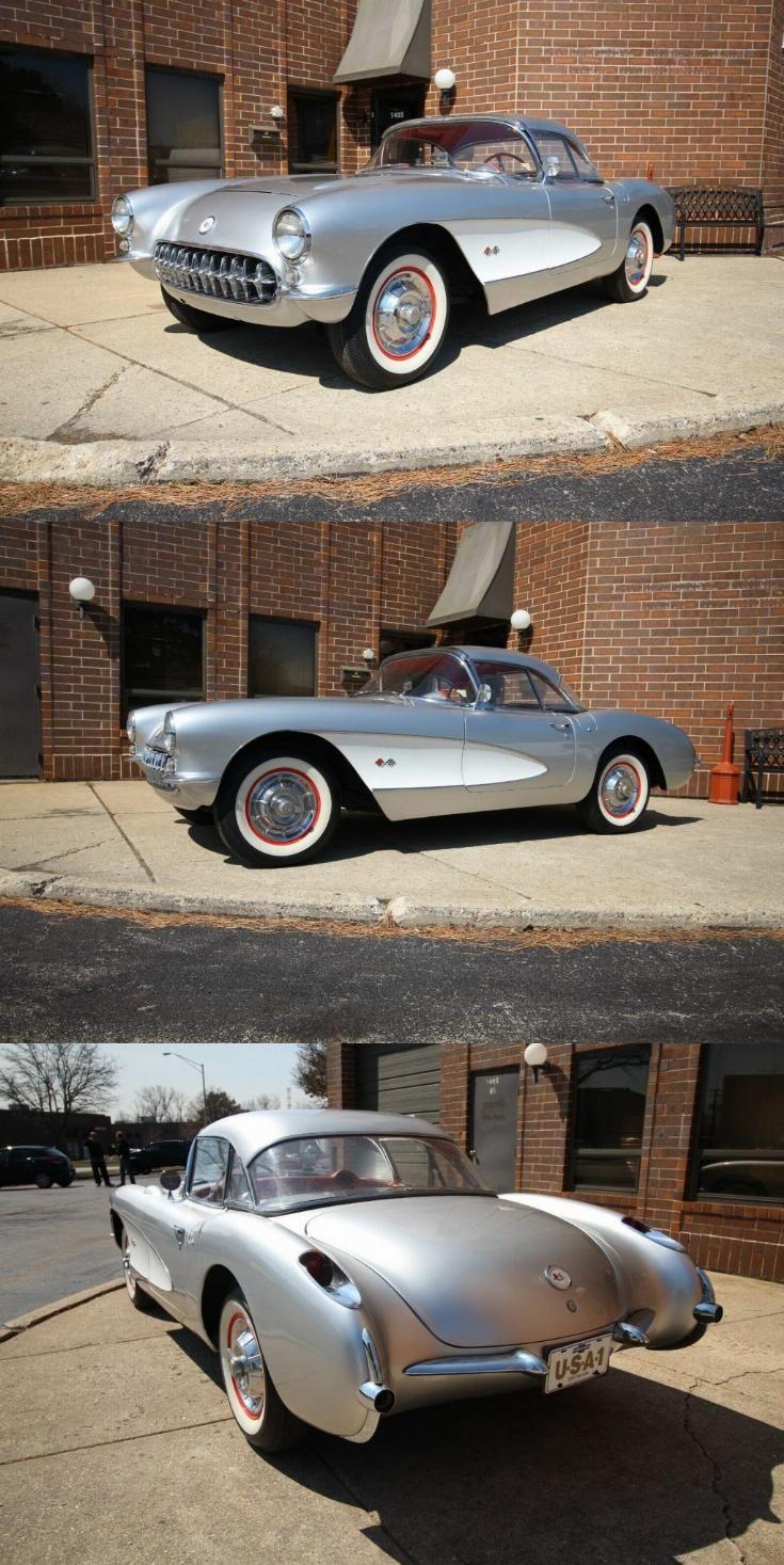 1957 Chevrolet Corvette in 2020 | Chevrolet corvette, 1957 chevrolet, Corvette for sale