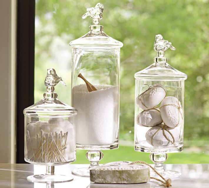 Totally Splurged On These Bird Canisters From Pottery Barn Bought