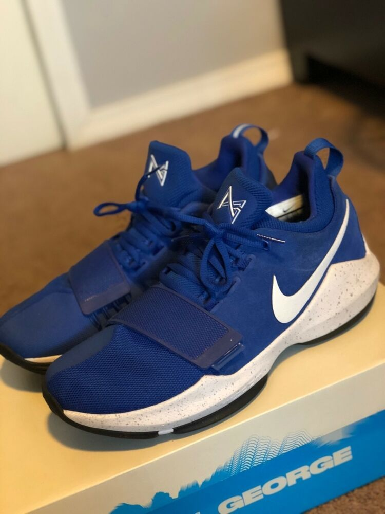 Nike Pg 1 Game Royal Blue White Black Paul George 878627 400 Men S