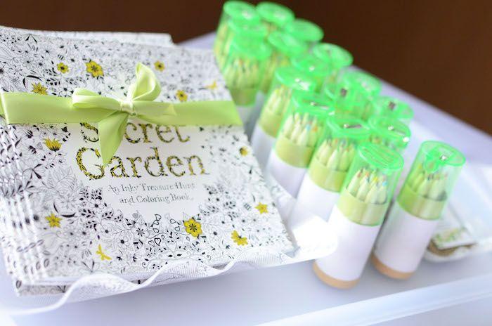 Daisy Garden Themed Birthday Party | Secret garden book, Themed ...