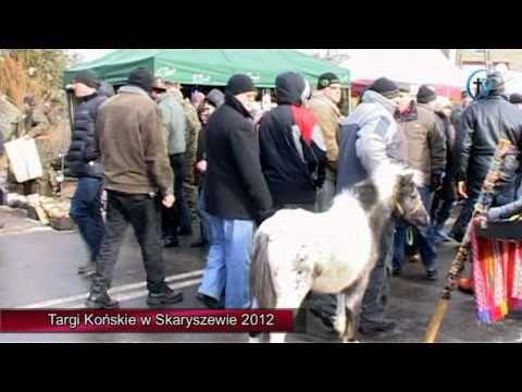 Targi Końskie w Skaryszewie 2012 - YouTube