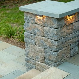 Column Lighting Outdoor