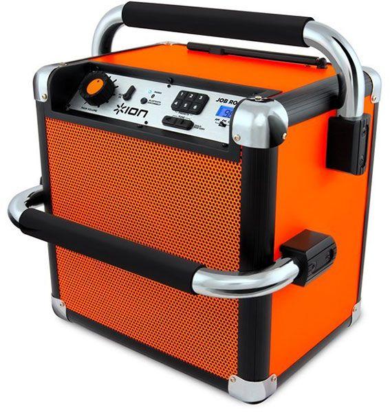 Ion Job Rocker Bluetooth Jobsite Radio Jobsite Fm Radio Portable
